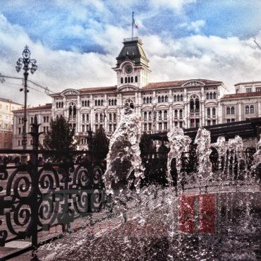 Natale e fontana