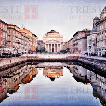 """Il canale di Ponterosso a Trieste in """"multicolor"""""""
