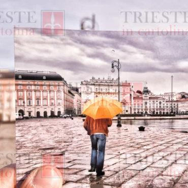ombrello giallo nella foto
