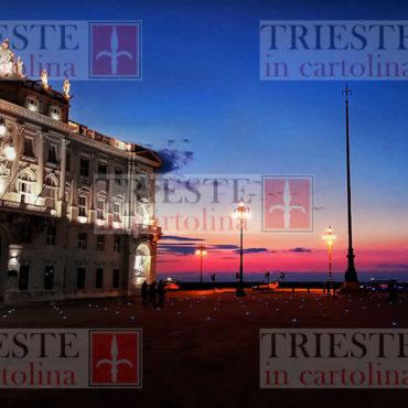 tramonto su palazzo regione