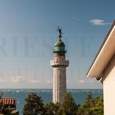 La Barcolana vista dal faro della Vittoria di Trieste