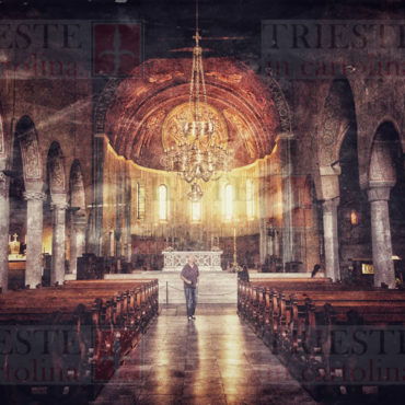 La navata centrale della Cattedrale di San Giusto a Trieste