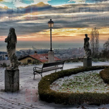 Villa revoltella dopo una nevicata (Trieste)