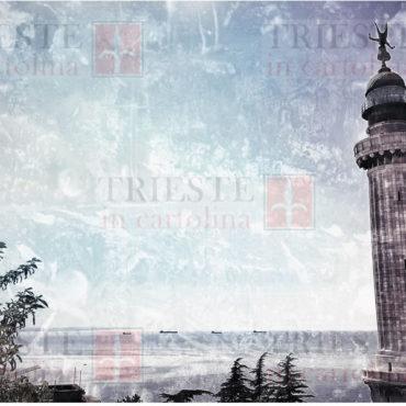 Il faro della Vittoria a Trieste in una foto/quadro