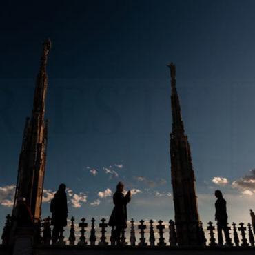 Click in cima al Duomo di Milano