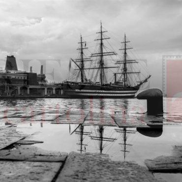 Il Vespucci, navescuola della Marina Militare italiana