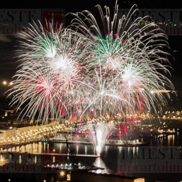 fuochi d'artificio Trieste