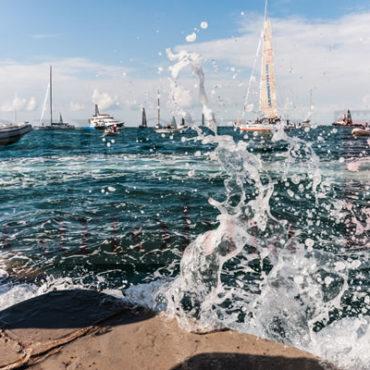 L'arrivo della Barcolana 49 del 2017 a Trieste