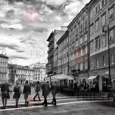 piazza della Borsa Bianco e Nero