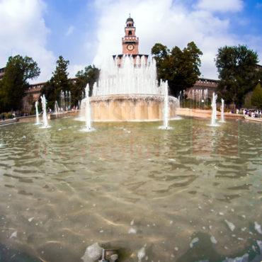 Fontana castelllo Sforzesco