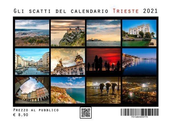 Calendario da parete Trieste 2021